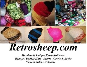 RetroSheep Personalised Knitwear & Laser Engraving Services