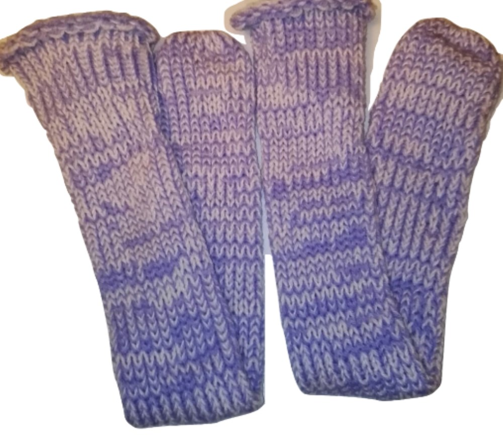 Knitting Pattern For Diabetic Socks : Diabetic Sufferers Handmade Extra Thick Double Knit Custom ...